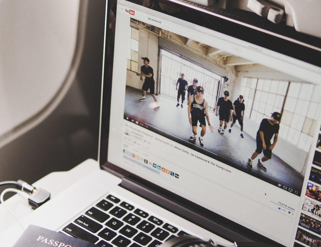 Sport auf Youtube