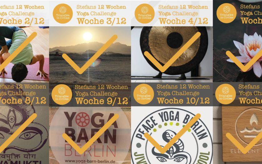 12 Wochen Yoga Challenge Instagram Posts